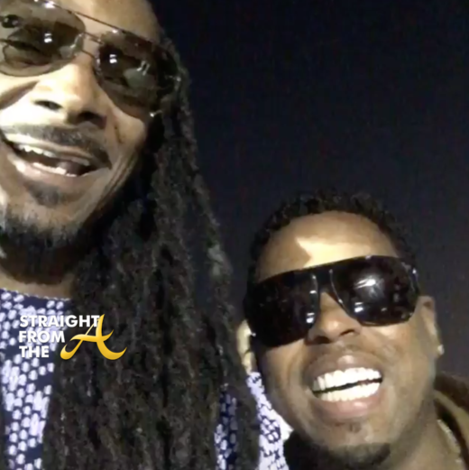 OPEN POST: Snoop Dogg And Bobby V  Finally 'Chop It Up' After Trans