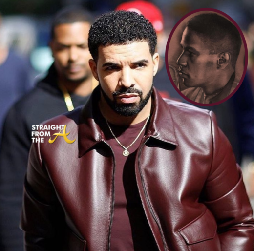 Tatted Up! Drake Gets Permanently Inked With Denzel Washington's Face… (PHOTO)