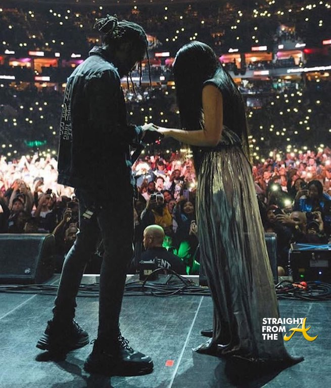 Cardi B And Offset Engaged 2017