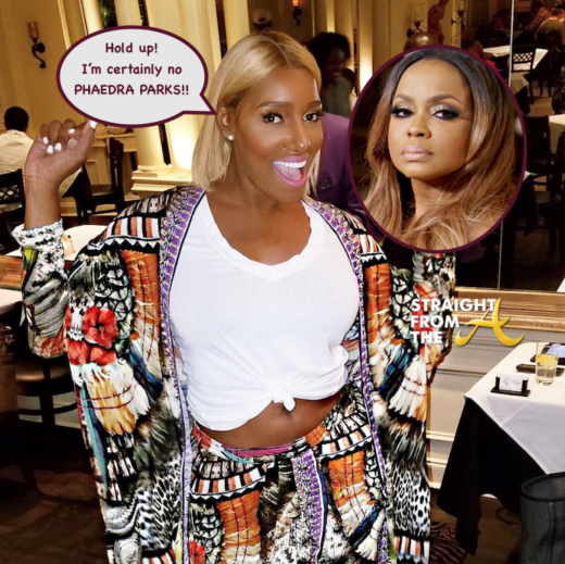 Rumor Control: #RHOA Nene Leakes Wants You To Know She's NOT the 'NEW' Phaedra Parks…