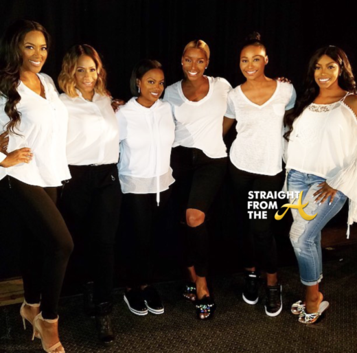 Black Girl Magic! #RHOA Season 10 Cast Join Forces For Domestic Violence PSA… (PHOTO)