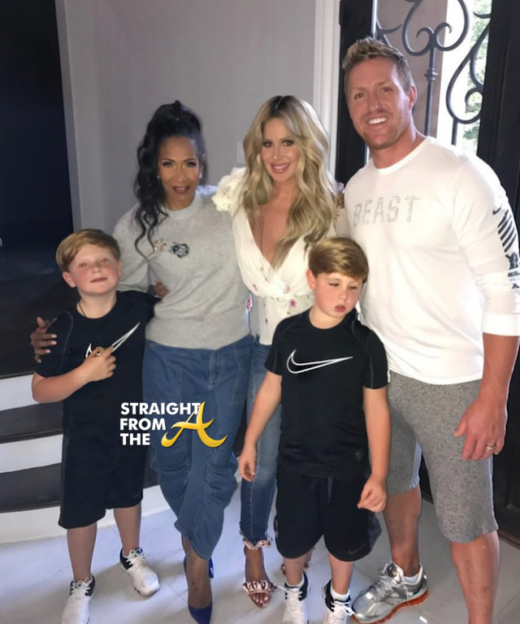 Instagram Flexin: Kim Zolciak-Biermann Wants You To Know She Has A Black Friend…