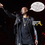 WTF?!? Tyrese Dedicates 'Let's Get It On' Remix To 10 y/o Daughter During Atlanta Performance… (VIDEO)