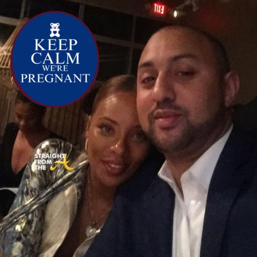 Baby Bump Watch: Eva Marcille Announces She's Pregnant + Having a Boy! (PHOTOS)