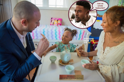 baby daddy drama kevin mccall issues threat to eva marcille s new