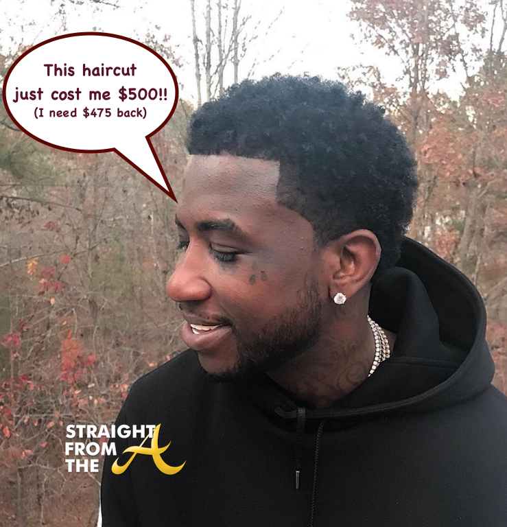 Instagram Flexin Gucci Mane Reveals 500 Haircut Photos Videos