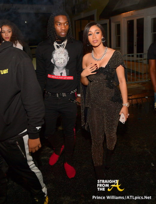 Boo'd Up: Cardi B & Offset Attend DJ Holiday's Birthday Celebration… (PHOTOS)