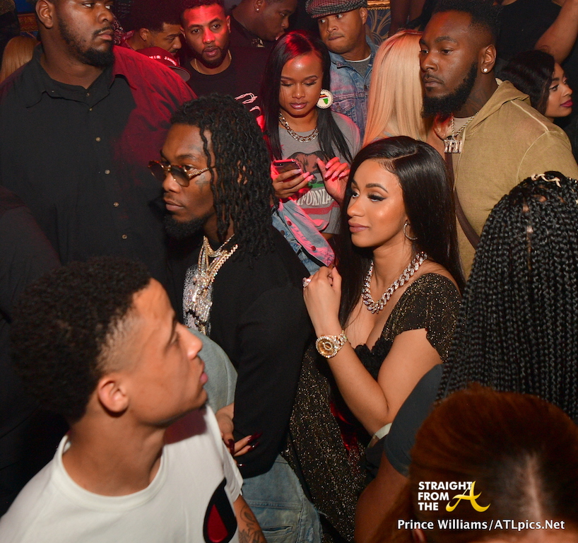 Boo'd Up: Cardi B & Offset Attend DJ Holiday's Birthday
