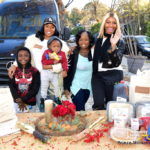 Good In The Hood: #RHOA Nene Leakes & Marlo Hampton Distribute Food To Families in Need… (PHOTOS)