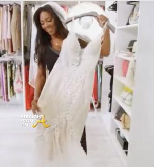 Cynthia Bailey Wedding Dress 29 Fresh Moore says her new