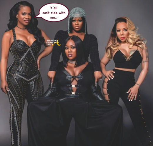 OPEN POST: Separate But Equal? Check Out Kandi Burruss' Xscape Tour Bus… (VIDEO)