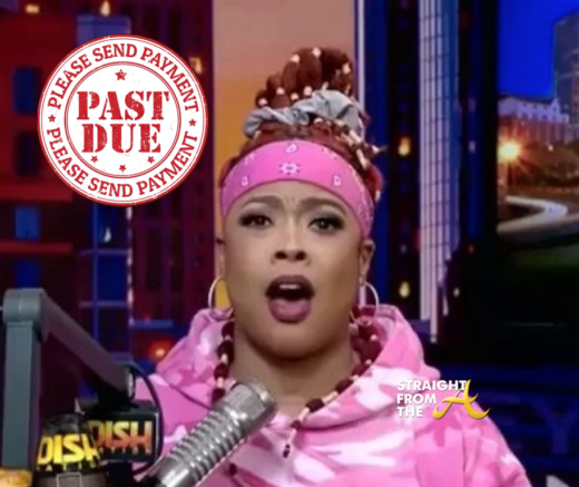 PAY UP!!! Da Brat Now Owes $7 Million to Victim of 2007 Bottle Attack And Interest is Accruing Daily…