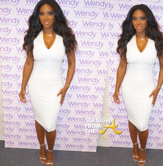OUCH! #RHOA Kenya Moore Shades Kim Zolciak's Plastic Surgery + Denies Knowing Marlo Hampton During Wendy Show Appearance… (FULL VIDEO)