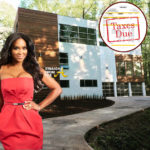 Uh Oh! #RHOA Kenya Moore Reportedly Tardy For Her Property Taxes & Moore Manor Is Scheduled For Auction!!