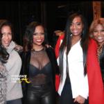 #RHOA Sheree Whitfield, Mona Scott-Young, Yandy Smith Attend Kandi Burruss' Broadway Debut…  (PHOTOS)