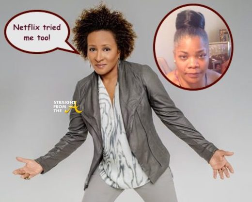 Comedian Wanda Sykes Reveals Netflix Offered Her Even Less Than Mo'Nique!!!