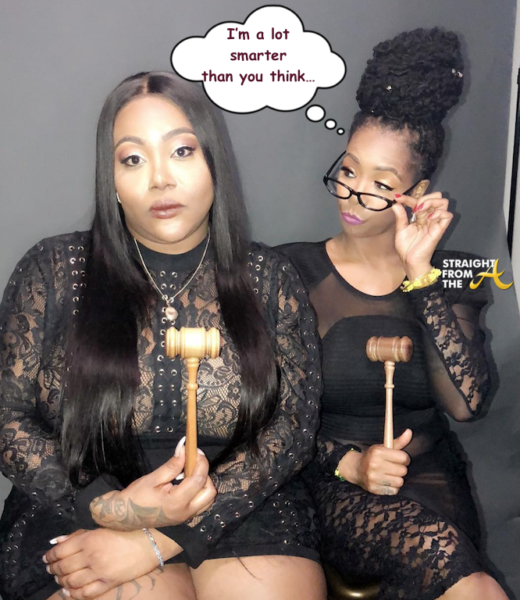 What's Beef?!? Khia Says T.S. Madison Stole 'The Queens Court' + Madison Responds… (VIDEOS)