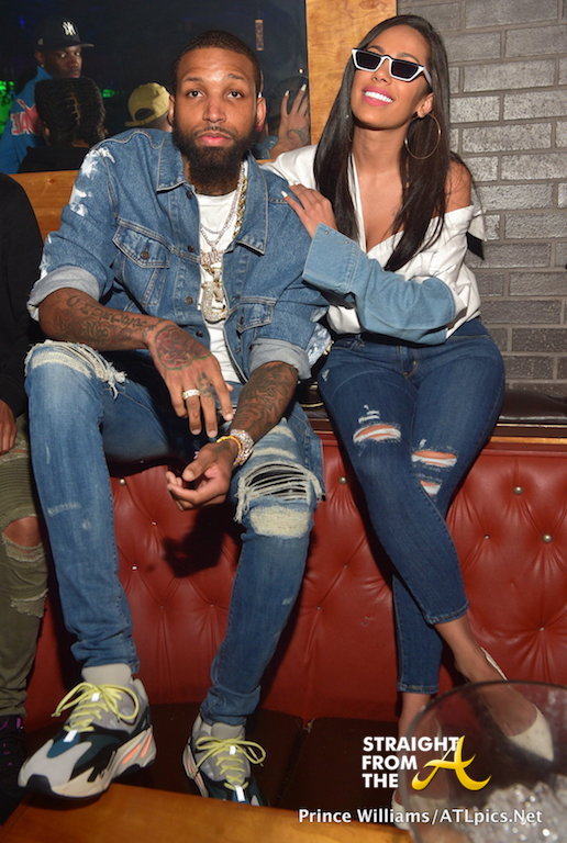 Boo'd Up: #LHHATL's Erica Mena & Boyfriend Party With Jim Jones & More… (PHOTOS)