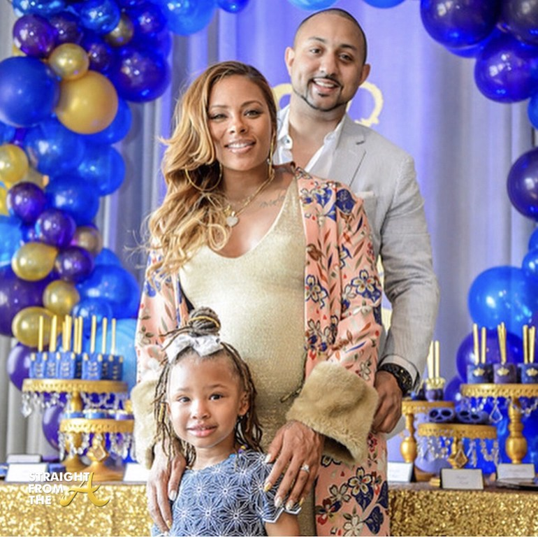 Baby Bump Watch: #RHOA Eva Marcille Hosts Royal Themed ...