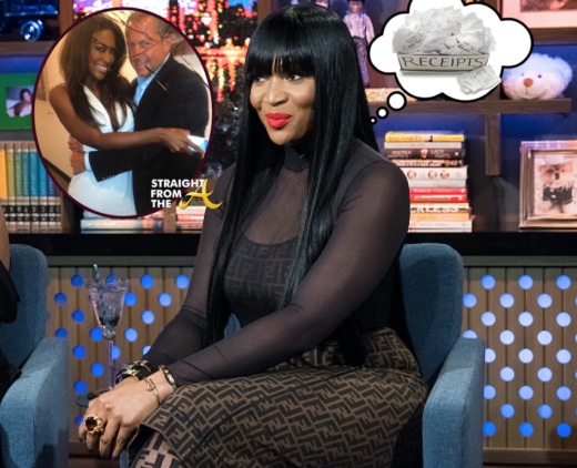 RECEIPTS!!! #RHOA Marlo Hampton Posts Kenya Moore Texts Regarding Sugar Daddy & More…