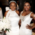 Quick Pics: Former #RHOA Phaedra Parks Attends Star Jones' Wedding… (PHOTOS)