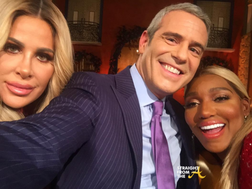 "Wait… What?!? Andy Cohen Feels Kim Zolciak Was ""Ganged Up On' During #RHOA Reunion… (VIDEO)"