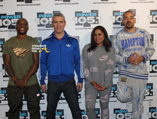 OPEN POST: Andy Cohen Talks Kim Zolciak on 'The Breakfast Club'… (VIDEO)