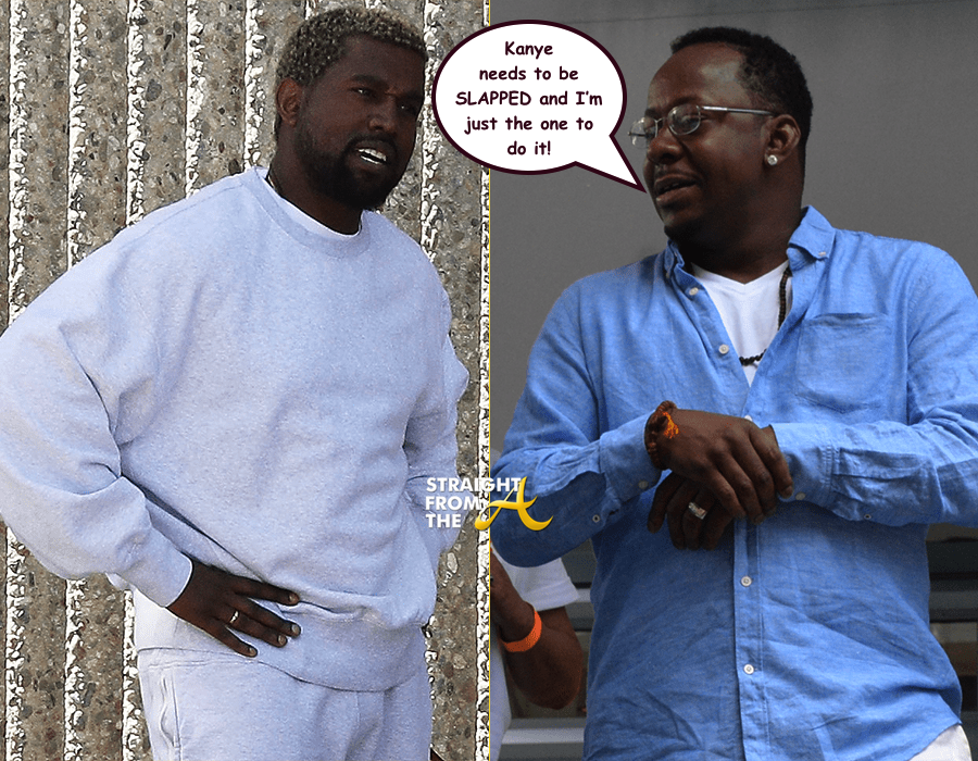 Uh Oh Bobby Brown Wants To Slap Kanye For Using