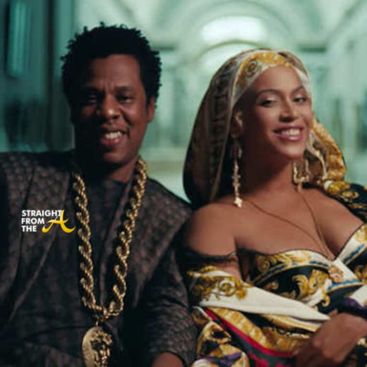 Beyoncè & Jay-Z Release 'APES**T' Video Filmed At The Louvre … (VIDEO)