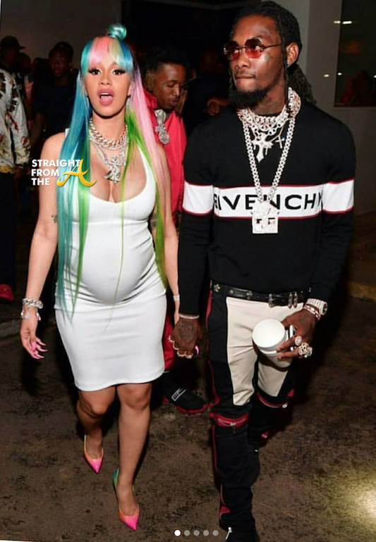 Cardi B Pregnant: Straight From The A [SFTA