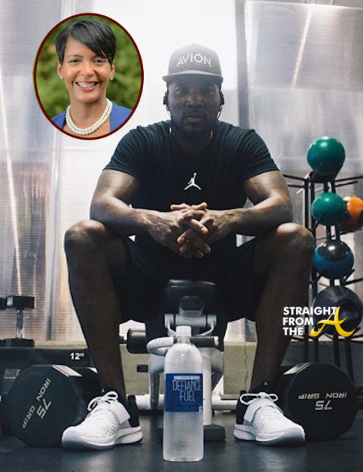 Jeezy Partners With Atlanta Mayor Keisha Lance Bottoms to Run AJC's Annual Peachtree Road Race…