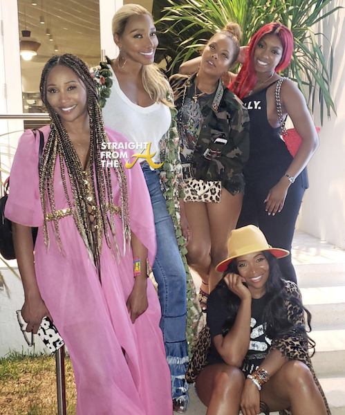 #RHOA Season 11 Cast Spotted Filming in Miami (Kenya Moore Not Invited)… (PHOTOS + VIDEO)