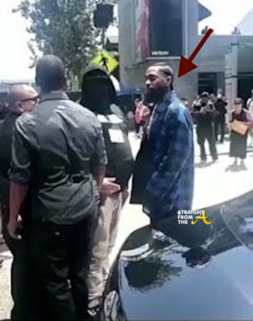 WTF?!? Nipsey Hussle Slaps BET Staffer During Awards Show Weekend… (VIDEO)