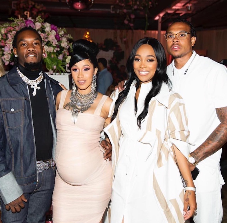 Baby Bump Watch Atlanta Celebs Attend Cardi B S Baby Shower
