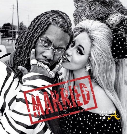 """Cardi B Confirms She Married Offset In September: Frienemies? Did Monica & Brandy """"Make Up"""" Just To Break Up"""