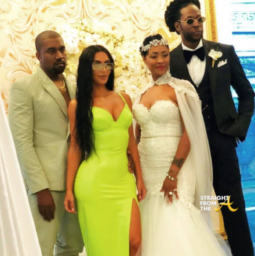 Celebs Attend 2 Chainz Wedding At The Versace Mansion… (PHOTOS + VIDEO)