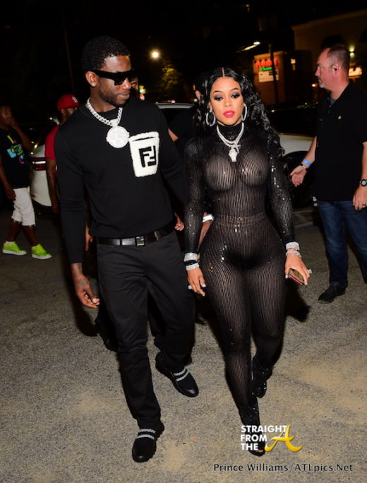 Boo'd Up: Gucci Mane & Keyshia Ka'oir Hit The Stage For Swisher Sweets… (PHOTOS)