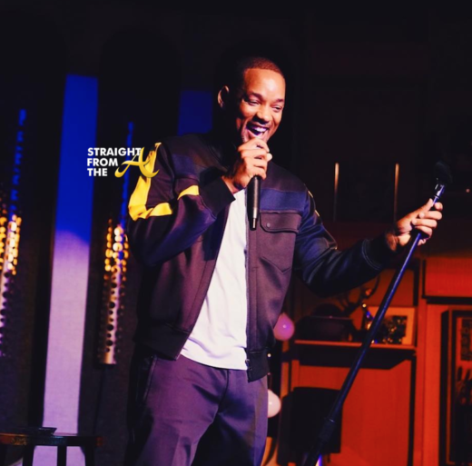 Wait… What?!? Will Smith Does Stand Up! Opens For Dave Chappelle…
