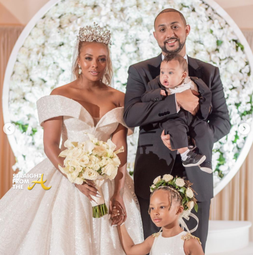 Meet The Sterlings! #RHOA Eva Marcille Shares Wedding Photos…