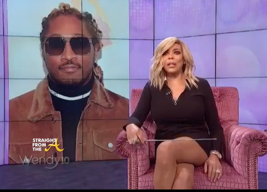 Petty Files: Future Shades Wendy Williams For Listing All His Baby Mamas…