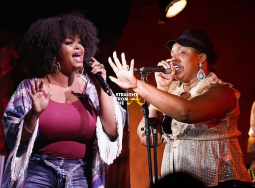 Neo-Soul Shade! Jaguar Wright Criticizes Jill Scott's Microphone Fellatio Trick… (VIDEO)
