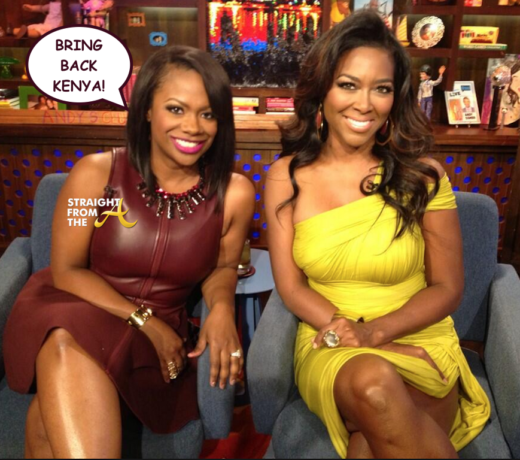 #RHOA Kandi Burruss Wants 'BFF' Kenya Moore Back On 'Housewives': 'She's Good For The Show'… (VIDEO)