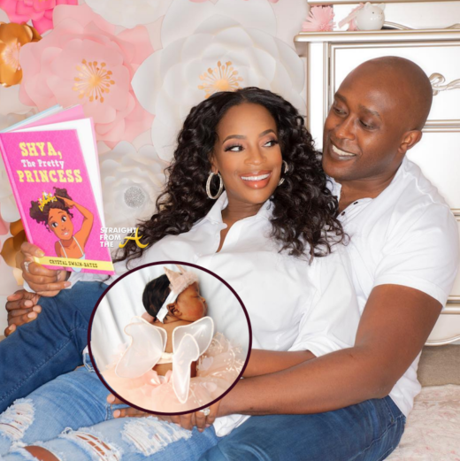 Congratulations!!! #RHOA Friend Shamea Morton Announces Birth of Daughter 'Shya Nyambura'… (PHOTOS)