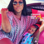 Where Yo Husband? Ex-Housewife Kenya Moore Celebrates Birthday With Baby and No Bae… (PHOTOS)