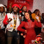 Cardi B, Migos Attend Offset's 'FATHER OF 4' Listening Party… (PHOTOS)