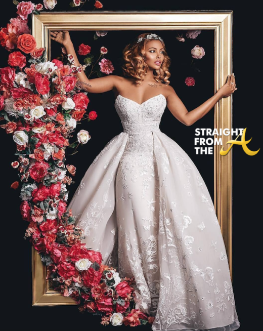 #RHOA Eva Marcille Explains Extravagant $1,000 Per Plate Wedding Costs… (VIDEO)