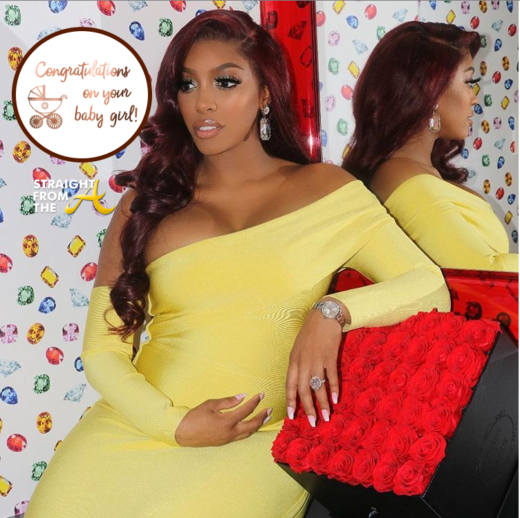 "Congratulations!!! #RHOA Porsha Williams Announces Birth of Baby ""PJ"" + Shares Name… (PHOTOS + VIDEO)"