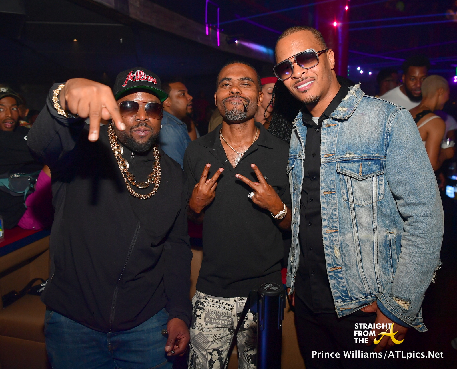 Club Shots Big Boi T I Lil Duval Amp More Party At
