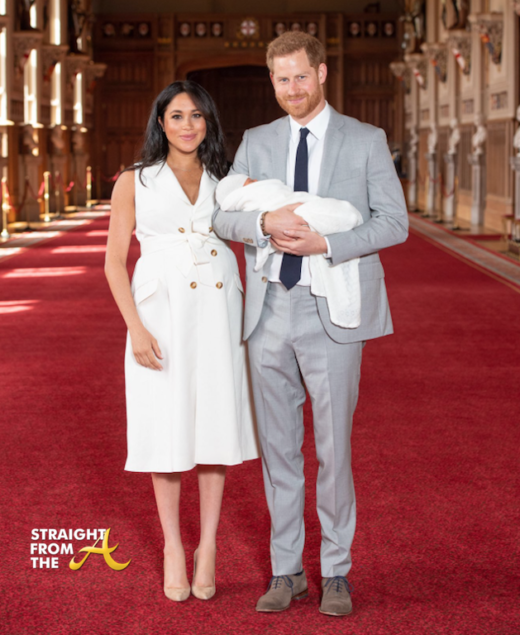 Prince Harry And Meghan Markle Announce Royal Baby Name