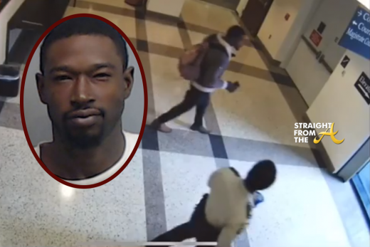 Kevin McCall (#RHOA Eva Marcille's Baby Daddy) Shares Video Surveillance of Court Fight, Vows To Sue… (VIDEO)
